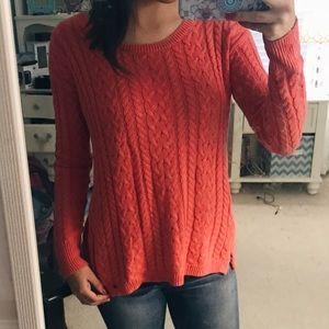 Side Zipper Sweater